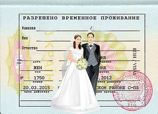 Заявление на РВП по браку (образец заполнения) в 2020 году